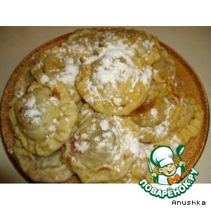 Рецепт: Пирожки сладкие «freeeeee»