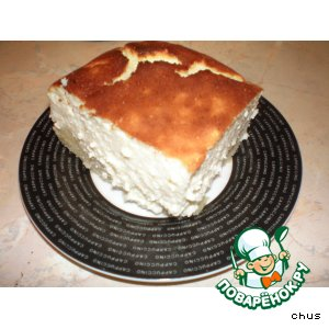 Рецепт: Пирог с яичным ликером