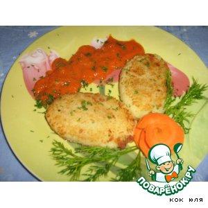 Рецепт: Картофельные зразы с соевым мясом