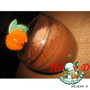 Рецепт: Горячий шоколад Амаретто
