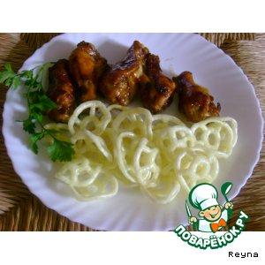 Рецепт: Маринованная курица