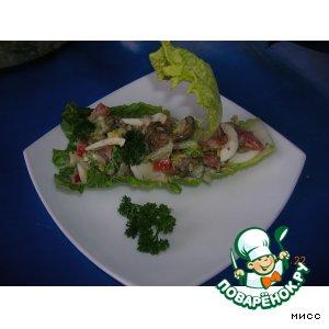 Рецепт: Салат по-Балатонски