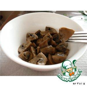Рецепт: Домашние маринованные шампиньоны