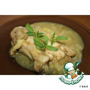 Рецепт: Курица с карри