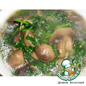 Рецепт: Чакапули из грибов