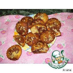 Рецепт: Кексы Зебрики