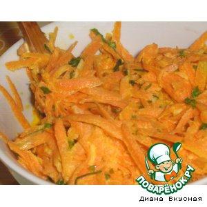 Рецепт: Салат морковный