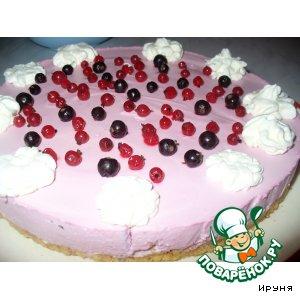 Рецепт: Йогуртовый торт с ягодами