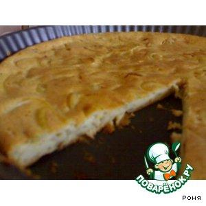 "Луковый пирог ""а-ля франсез"" – кулинарный рецепт"