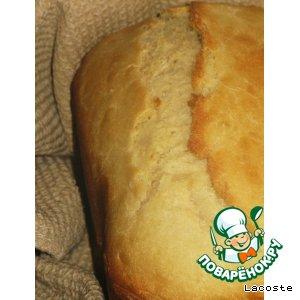 Рецепт: Пшеничный хлеб с картофельными хлопьями