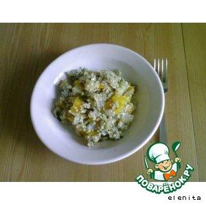 Рецепт: Тыквенно-луковая каша