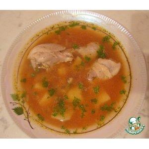 """Рецепт: Суп """"Восточный соус"""""""