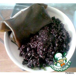 Рецепт: Голубцы по-китайски с черным рисом