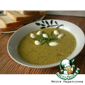 Рецепт: Суп-пюре из цуккини «Тэнги»