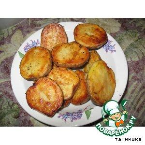 Рецепт: Изумительная печеная картошечка