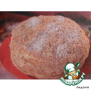 Рецепт: Торт Степка-растепка