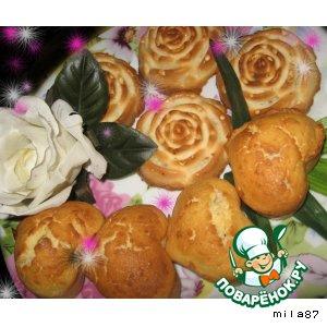 Рецепт: Кокосовые бисквиты Райское наслаждение