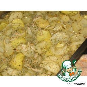 Рецепт: Простой картофель