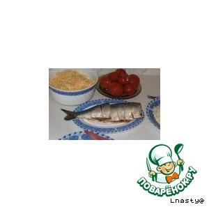 Рецепт: Вкусненький посол селедочки