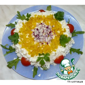 Рецепт: Салат Одесский