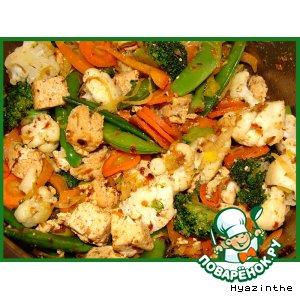 Рецепт: Овощной ералаш