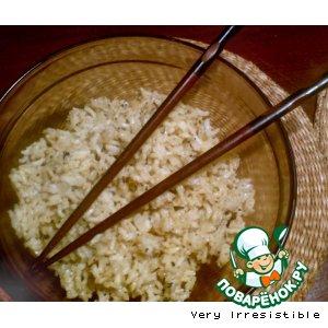Рецепт: Коричневый рис с лимонным ароматом