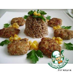"""Рецепт: Мясные оладушки """"Любимые"""""""