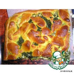 Рецепт: Пирог Весеннее удовольствие