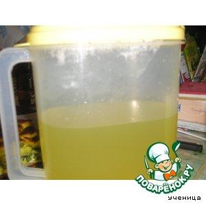 Рецепт Витаминный напиток из лимонов