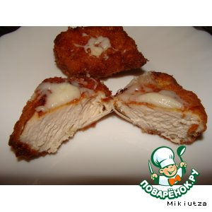 Рецепт: Курица в панировке