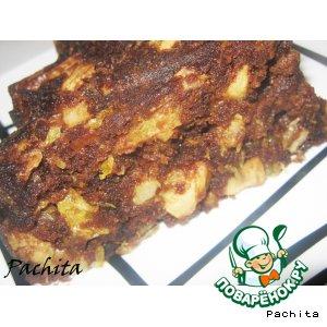 Рецепт: Пирог из пряников с фруктами