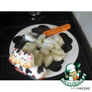 Рецепт: Ленивые вареники Неженка