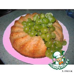 Рецепт: Банановый кекс с печеньем