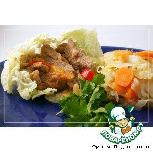 Рецепт: Пряная говядина Фахитас