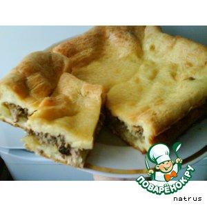 Рецепт: Пирог закусочный Прибалтийский