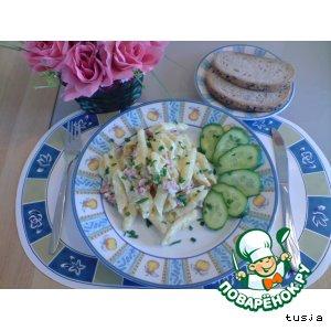 """Рецепт: Лапша к завтраку """"Когда нельзя, но очень хочется!"""""""