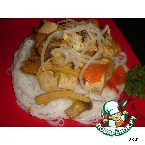 Рецепт: Тофу по-китайски