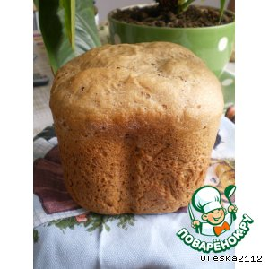 Рецепт: Хлеб ржаной на кефире
