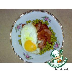 """Рецепт: Завтрак для """"Любимой"""""""
