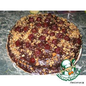 Тортик Вишня в шоколаде
