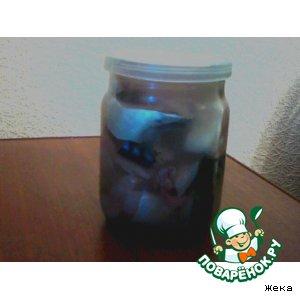 Рецепт: Скумбрия малосольная