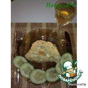 Рецепт: Картофельное суфле с рыбой и шпинатом
