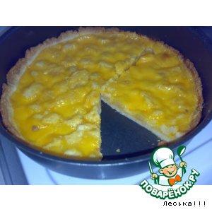Рецепт: Пирог с кремом