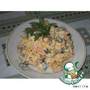 Рецепт: Салат Париж