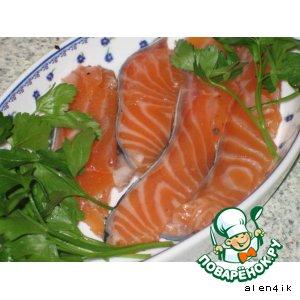 Рецепт: Оригинальный способ маринования рыбы