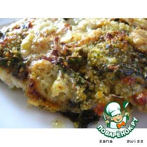 Рецепт: Запеченая рыба под соусом Провансаль