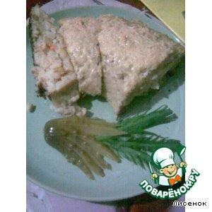 Рецепт: Рыбный рулет с рисом