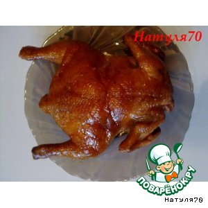 Рецепт: Копченая курица