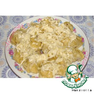 Рецепт: Татарские манты