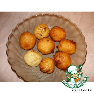 Рецепт: Воздушные шарики из картошки с сыром